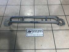 11-18 Durango Grand Cherokee Front Strut Tower Brace Chrome Molly Steel Silver