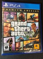 Grand Theft Auto V / GTA V / GTA 5 [ Premium Edition ] (PS4) NEW
