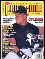SCD Sports Card Price Guide July 1994 Frank Thomas jhscd