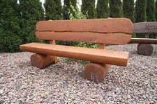 Rustikale Sitzbank, Holzbank Hochzeitsgeschenk..,Geburstaggeschenk.Gartenmöbel