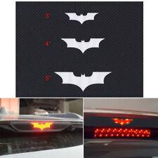 Fashion 3D Carbon Fiber Adhesive Car Batman Brake Tail Light Vinyl Sticker Decal