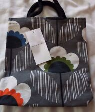 NEW SMALL ORLA KIELY FLOWER PRINT JUTE SHOPPING BAG FROM TESCO Limited Design