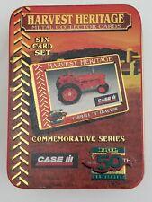 Ertl Harvest Heritage CASE IH Commemorative Series 6 Metal Card Set 1995 NIP