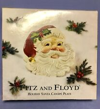 Fitz and Floyd Santa Canape