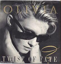 "OLIVIA NEWTON-JOHN - Twist of fate - VINYL 7"" 45 ITALY 1983 NEAR MINT COVER VG+"