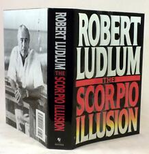 THE SCORPIO ILLUSION, Robert Ludlum, SIGNED (only), 1st/1st, 1993