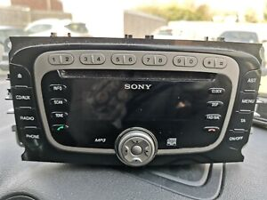 FORD FOCUS MK-2 MONDEO MK-4 C/S MAX GALAXY, SONY RADIO CD MP-3 PLAYER CODE 5880