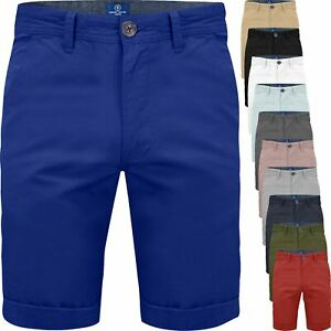 Mens Chino Shorts Summer Casual Half Pant Cotton Jeans Cargo Combat Slim 28-42
