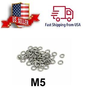 M5 Lock Washer 304SS GB93 Spring Split Lock Washer Elastic Gasket M5