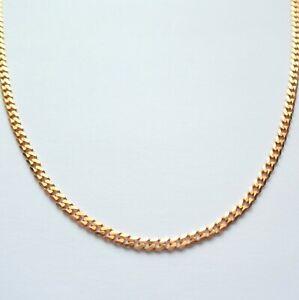 "Gold Necklace Chain 9 Carat 18"" Men's Women's Unisex Jewellery"