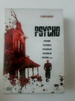 Psycho - 5 DVD Box Set  Region 2 Made in Greece Brand New Sealed