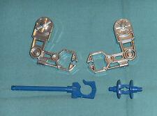 vintage Mego Micronauts MICROTRON PARTS LOT #35 chrome arms, hook +++