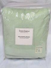 New in Package Linen Source 100% Micro Plush Queen Sized Blanket
