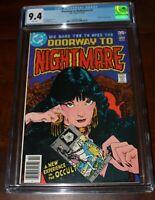 Doorway to Nightmare #1 CGC 9.4 DC 1978 - Madame Xanadu begins - New Slab