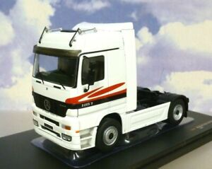IXO 1/43 1995 MERCEDES-BENZ ACTROS MP1 SERIES 1 V8 1857 TRUCK CAB IN WHITE TR064