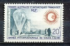 FRENCH ANTARCTIC TERRITORY TAAF 1963 - INT. YEAR OF THE QUIET SUN -        Hk10g