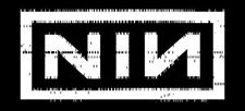 "Nine Inch Nails  - Logo Sticker 2.75"" x 6"""