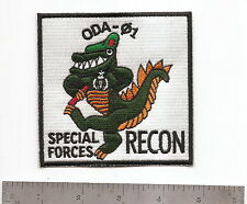 #105 US ARMY SPECIAL FORCES ODA 01 RECON PATCH