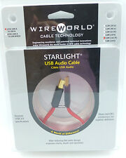WireWorld StarLight  USB 5 meter USB A-B Wire World