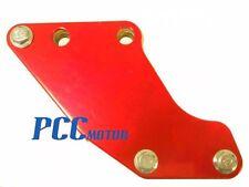 RED CHAIN GUARD GUIDE HONDA XR50 CRF50 SDG SSR70 107 110 125 PIT BIKE V CG03