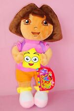 1PC 32CM DORA THE EXPLORER WITH BACKPACK PLUSH DOLL KIDS BABY SOFT STUFFED TOY