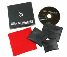 Deluxe Nest of Wallets - Magic trick,Mentalism magic,Stage,Illusions,Close Up
