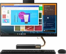 """Lenovo - IdeaCentre A540 24"""" Touch-Screen All-In-One - AMD Ryzen 3-Series - 8..."""