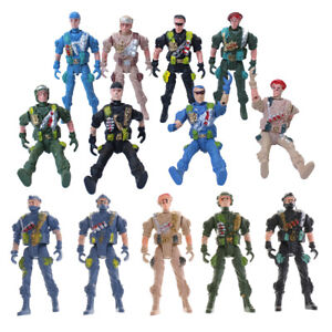 9cm Special Force Action Figures Army Men Soldier
