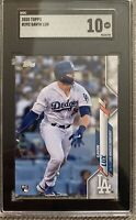 2020 Topps Baseball Gavin Lux DODGERS RC #292 SGC 10 Gem Mint Rookie Card