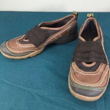 Womens Merrell Mimosa Band Cocoa Brown Leather Slip On Comfort Shoes US 6 EU 36