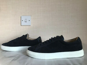 Zespa ZSP4 Navy Suede Trainers UK 8 EU 42 – Retail £255