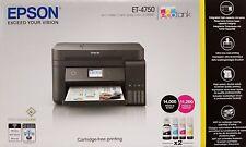 Epson Ecotank ET-4750 4-in-1 Impresora Multifunción de Inyección Tinta Adf, Fax