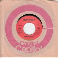 Freddie Hart The Pleasure's Been All Mine b/w It's Heaven Loving You 45 Record