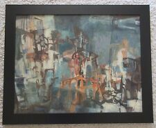 FLORENCE PHILLEO PAINTING 1950'S CUBIST CUBISM ABSTRACT EXPRESSIONISM MODERNISM