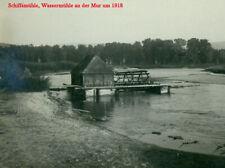 Foto Schiffsmühle Wassermühle ship mill an der Mur Mura brodski mlin 1wk ww1