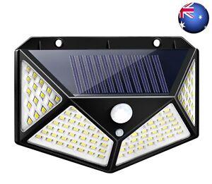100LED Solar Light Outdoor Solar Lamp with Motion Sensor Solar LED Garden Light