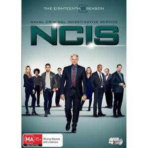 NCIS - Season 18 (Dvd,2021) *NEW* Region 4