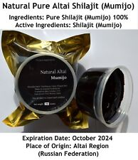 MEGA SALE! 2.2 Lbs (1 kgs) Pure Altai Shilajit Resin FAST DELIVERY (2 WEEKS)