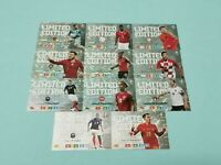 Panini Adrenalyn XL Uefa Euro EM 2020 Set 1 - 10 x Limited Edition aus Blister