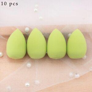 10 Pack Beauty Makeup Sponge Applicator Foundation Blender Buffer Sponge Flawles