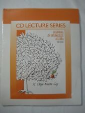 New CD Lecture Series Beginning & Intermediate Algebra 3rd Edition School Math