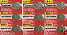 CR 2025 Panasonic 3v Lithium Watch Batteries (9 pieces)