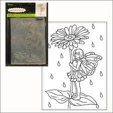 Fairy Garden - daisy embossing folder by Darice embossing folders 30008396