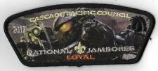 2017 National Scout Jamboree Cascade Pacific JSP HALO 'Loyal' Orange [NJ209]