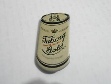 VINTAGE PROMO PINBACK BUTTON #113-050 - TUBORG GOLD beer can pin