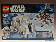 New LEGO Hoth Wampa Cave Star Wars (8089) Luke Skywalker Snowspeeder Rebels MISB