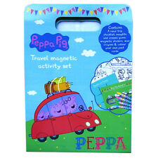 Peppa Pig Travel Magnetic Activity Set - Games, Stickers, Colouring Fun and more