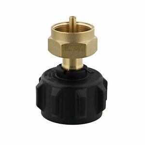 BISupply Propane Refill Adapter Tank Fitting - Gas Grill - Smoker - Camp Stove