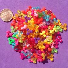 200 x Mixed Spacer Beads, Key Rings, Craft, Jewellery making,Pony Bead