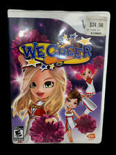We Cheer (Nintendo Wii, 2008) Video Game Complete With Manual Tested